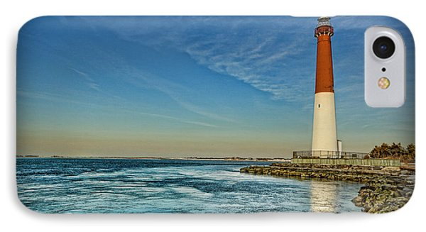 Barnegat Lighthouse II - Lbi IPhone Case by Lee Dos Santos