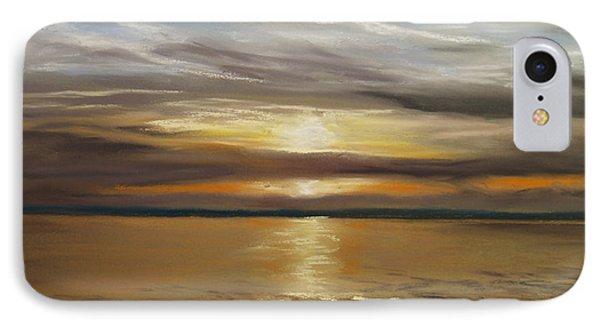 Barnegat Sunset Phone Case by Joan Swanson