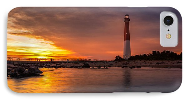 Barnegat Sunset Light IPhone Case by Mihai Andritoiu