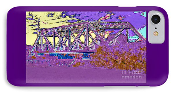 Barnes Ave Erie Canal Bridge IPhone Case by Peter Gumaer Ogden