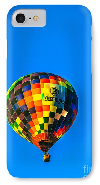 Barney's Hot Air Balloon Phone Case by Robert Bales