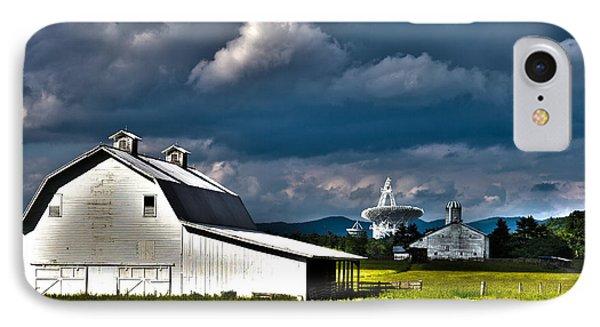 Barns And Radio Telescopes IPhone Case