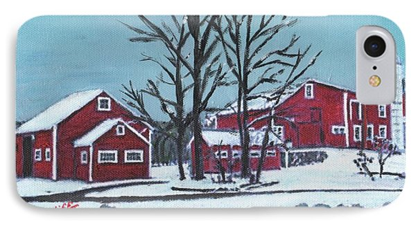 Barns At The Warren Conference Center IPhone Case