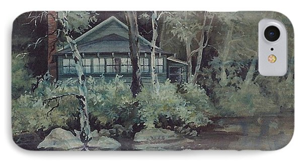 Barnstead Summer Cottage Phone Case by Joy Nichols