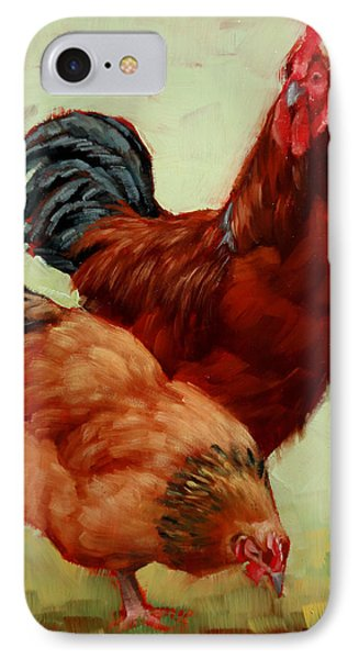 Barnyard Buddies IPhone Case by Margaret Stockdale
