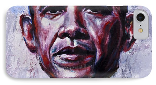 Barock Obama IPhone Case by Mark Courage