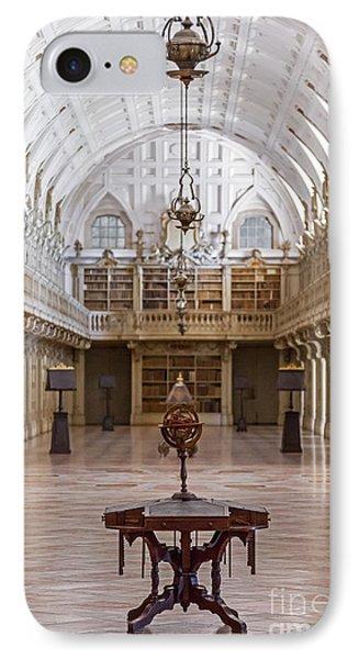 Baroque Library  Phone Case by Jose Elias - Sofia Pereira