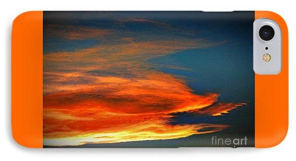 Barracuda Cloud Phone Case by Phyllis Kaltenbach