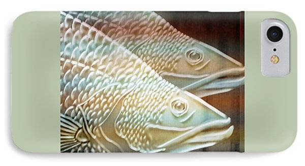 Barramundi IPhone Case by Holly Kempe