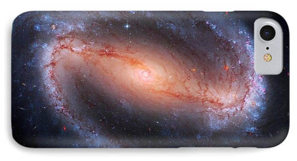 Barred Spiral Galaxy Ngc 1300 Phone Case by Don Hammond