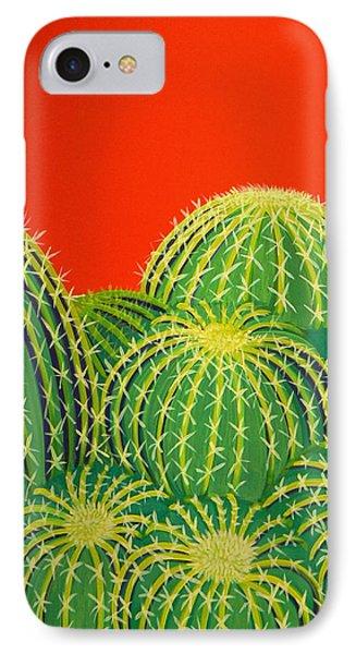 Barrel Cactus IPhone Case by Karyn Robinson