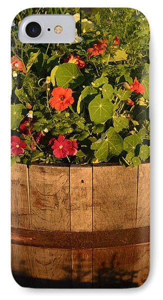 Barrel Of Flowers IPhone Case by John Brink