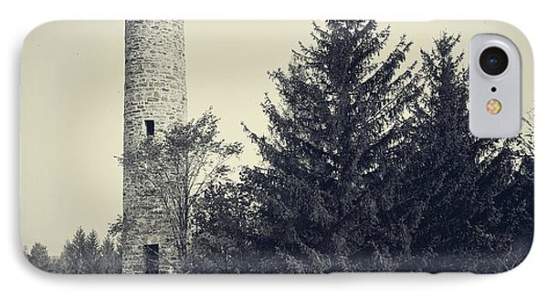 Bartlett Tower Dartmouth College Hanover Nh Phone Case by Edward Fielding