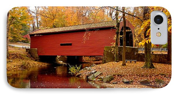 Bartram's Covered Bridge IPhone Case by L Brown