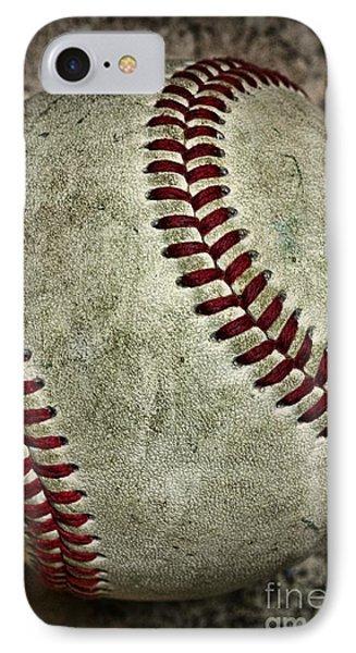 Baseball - A Retired Ball IPhone Case by Paul Ward