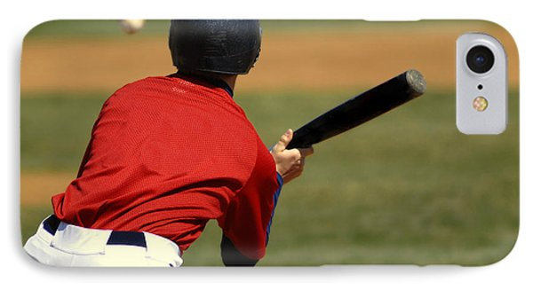 Baseball Batter Phone Case by Lane Erickson