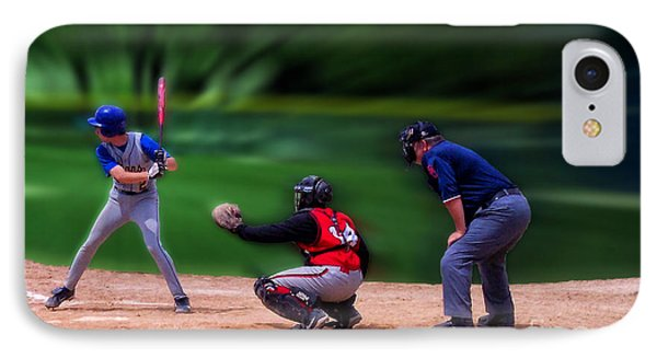 Baseball Batter Up Phone Case by Thomas Woolworth