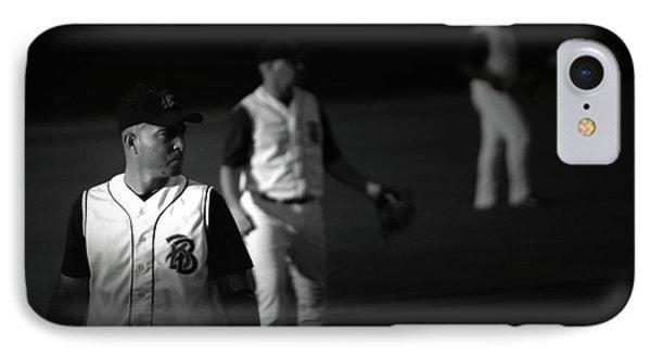 Baseball Days Phone Case by Karol Livote