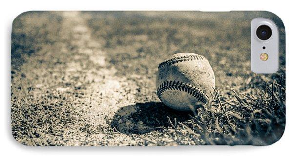 Baseball Field 2 IPhone Case by Yo Pedro