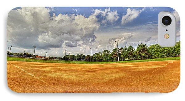 Baseball Field IPhone Case by Tim Buisman