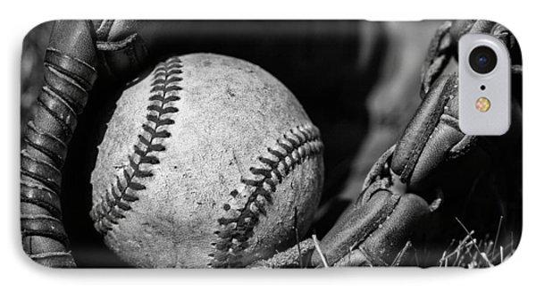 Baseball Gear IPhone Case by Karol Livote