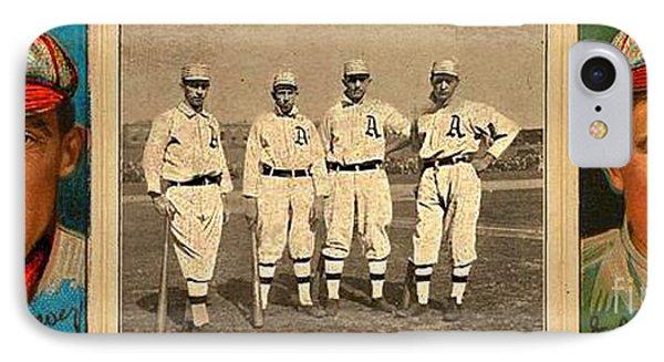 IPhone Case featuring the photograph Baseball by John  Kolenberg