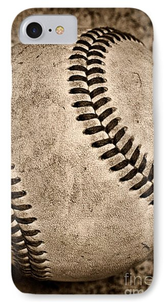 Baseball Old And Worn IPhone Case