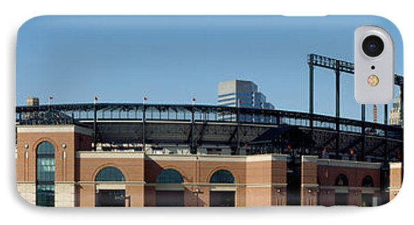 Baseball Park In A City, Oriole Park IPhone Case by Panoramic Images