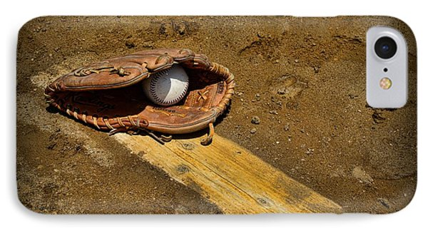 Baseball Pitchers Mound Phone Case by Paul Ward