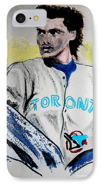 Baseball Player Phone Case by First Star Art