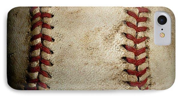 Baseball Seams Phone Case by David Patterson