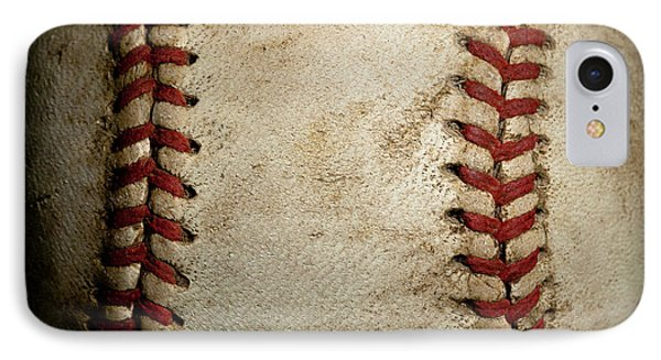 Baseball Seams IPhone Case by David Patterson