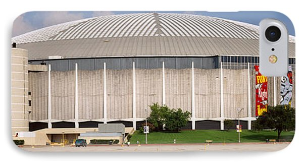 Baseball Stadium, Houston Astrodome IPhone Case by Panoramic Images