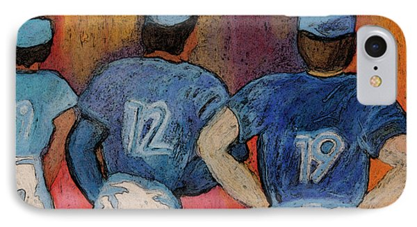 Baseball Team By Jrr  Phone Case by First Star Art