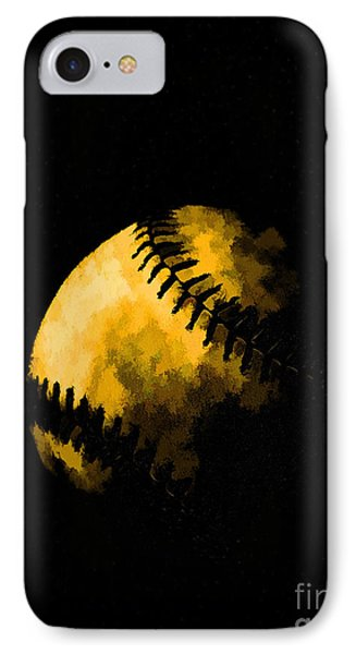 Baseball The American Pastime IPhone Case by Edward Fielding