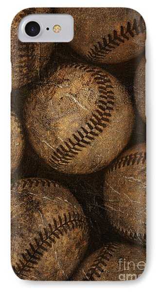Baseball iPhone 7 Case - Baseballs by Diane Diederich