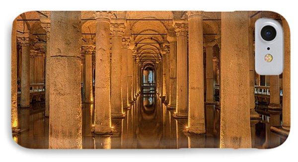 Basilica Cistern IPhone Case by David Parker
