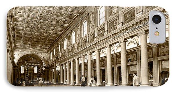Basilica Di Santa Maria Maggiore IPhone Case