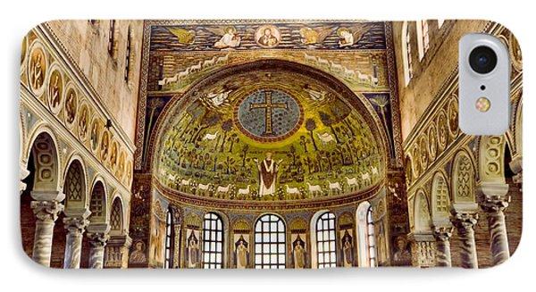 Basilica Di Sant'apollinare Nuovo - Ravenna Italy Phone Case by Jon Berghoff