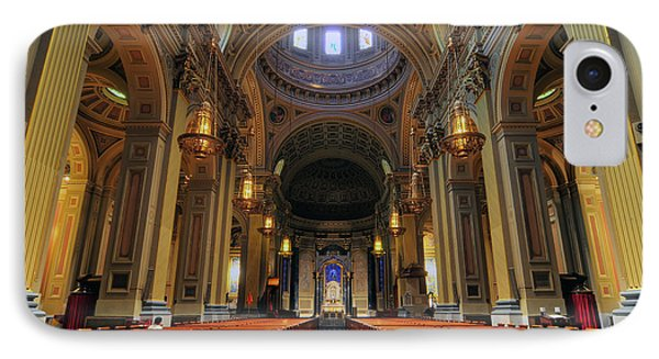 Basilica Of Saints Peter And Paul IPhone Case by Dan Myers