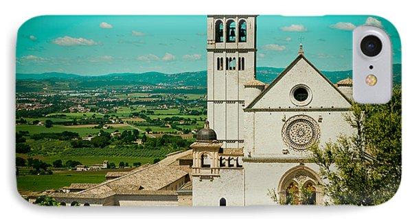 Basilica Of San Francesco Assisi  Phone Case by Raimond Klavins