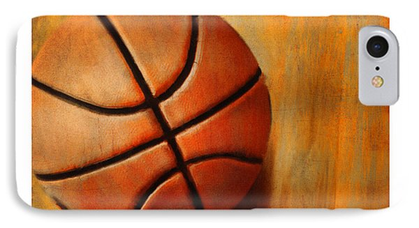 Basket Ball IPhone Case by Craig Tinder
