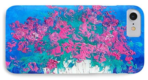 Basket Of Flowers IPhone Case by Jan Matson