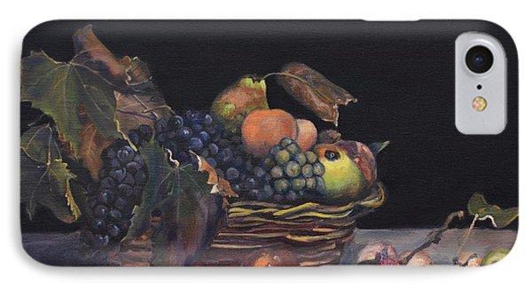 Basket Of Fruit Phone Case by Donna Tuten
