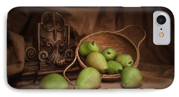 Basket Of Pears Still Life IPhone 7 Case by Tom Mc Nemar