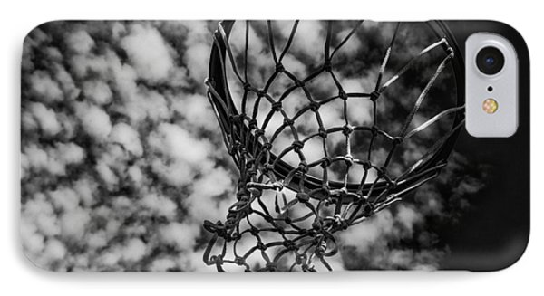 Basketball Heaven IPhone Case by Karol Livote