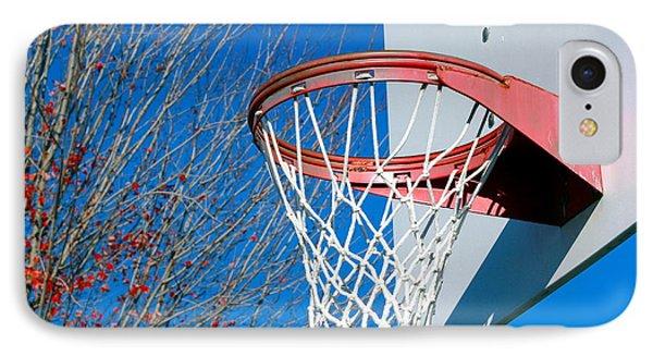 Basketball Net Phone Case by Valentino Visentini