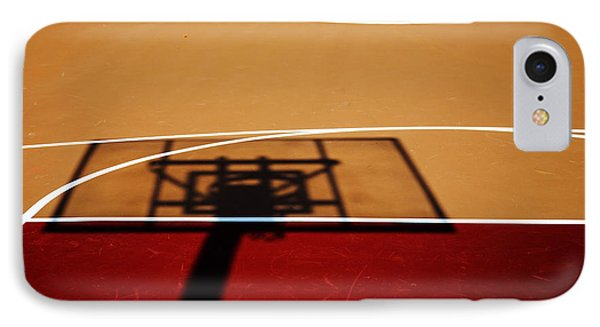 Basketball Shadows IPhone Case by Karol Livote