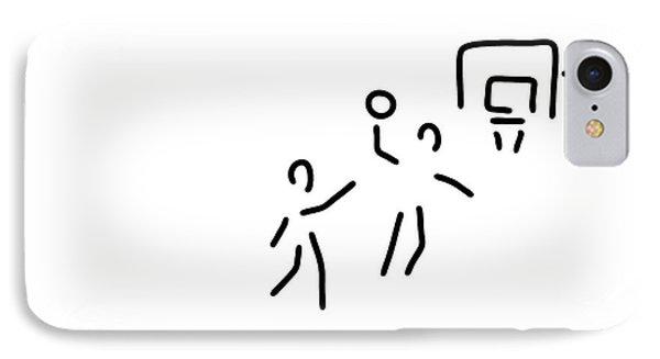 Basketball Usa Basketball Player IPhone Case