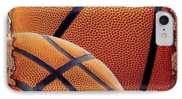 Basketballs  IPhone Case by David G Paul